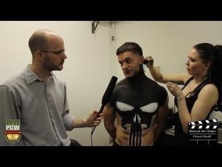 #My1 Prince Devitt - Backstage Bodypaint Interview