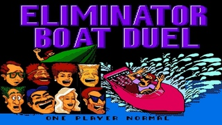 Eliminator Boat Duel (Гонки на Катерах). walkthrough. NES. Dendy прохождение
