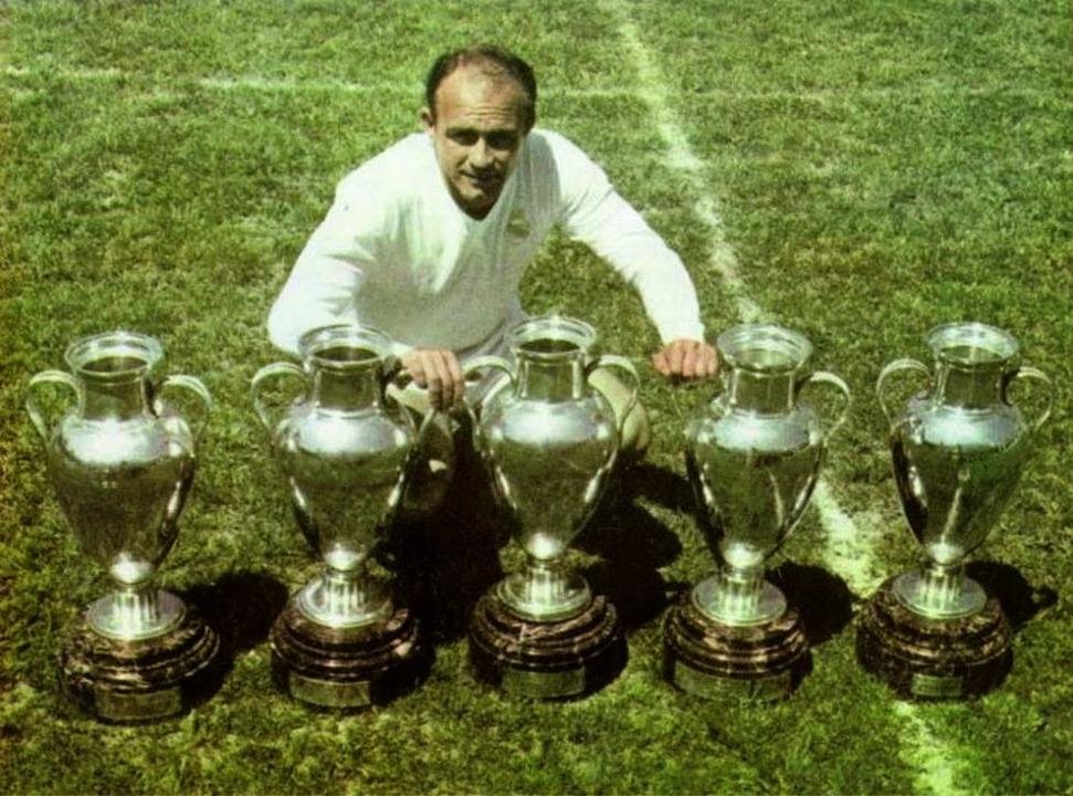 Альфредо Ди Стефано. ФК Реал Мадрид