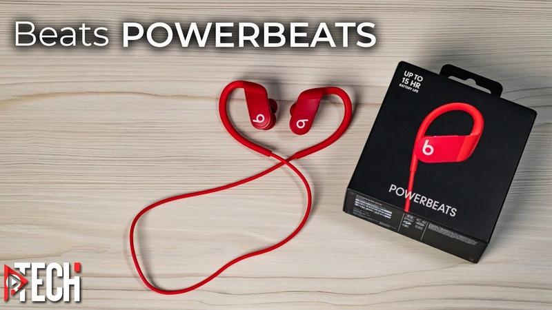 Самые дешевые наушники с полной поддержкой техники Apple Обзор Powerbeats от Beats с чипом Apple H1