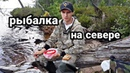 Рыбалка на севере. Архангельская область. Змеиное Озеро.