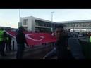Sabiha Gökçen havalimanı Atatürk saygı duruşu