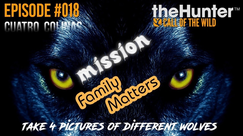 TheHunter COTW Ep 018 Family Matters missions