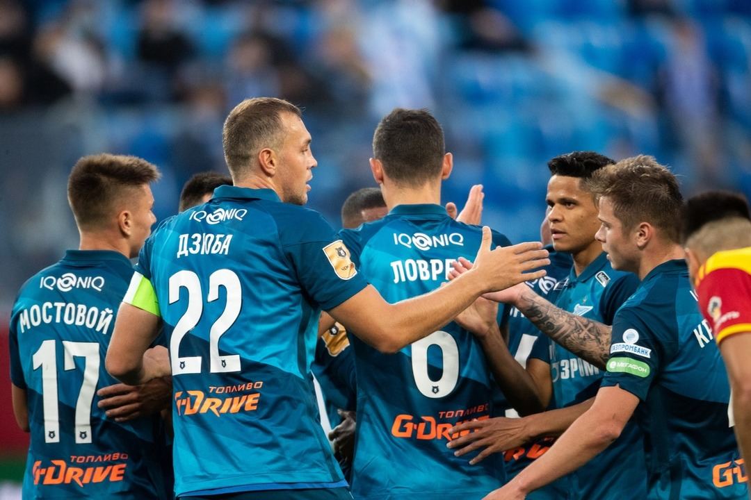 Зенит - Арсенал Тула, 3:1