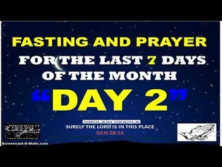 Day Two - Fasting and Prayer - Breaking Evil Covenant and Curses - Owolabi Onaola