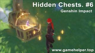 Скрытые сундуки в Genshin Impact (Серия видео). #6.