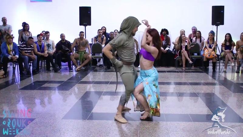 Baila Mundo - Larissa Thayane e Ry'El (Swing Zouk Weekend 2018)