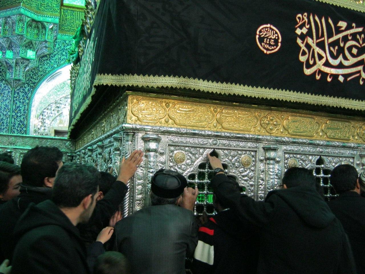 Гробница Фатимы в Куме в Иране