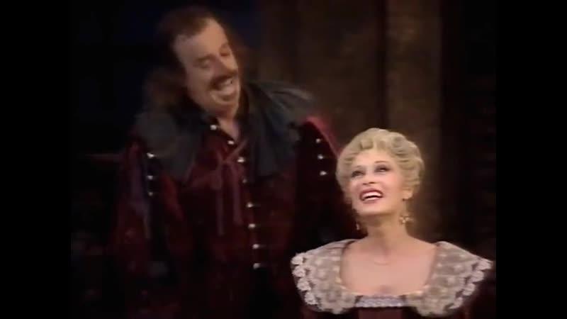 Театр Marigny Сирано де Бержерак часть 1 Cyrano de Bergerac 1990 режиссер Робер Оссейн