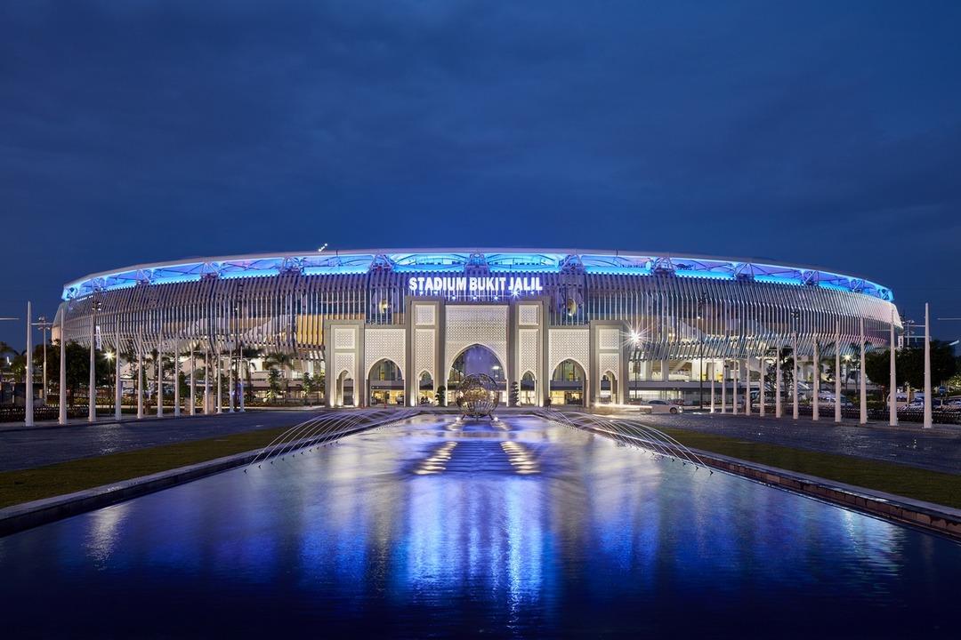 Стадион Букит Джалил. Малайзия