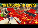 ENTIRE MAP IS MADE OUT OF LAVA! - Fortnite Funny Fails and WTF Moments! #225 (Daily Moments)