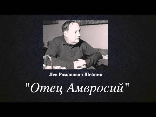 Записки следователя отец Амвросий Лев Романович Шейнин