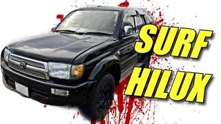Авто из Японии! Toyota Hilux Surf ! Смотреть видео обзор! Конструктор в сборе!