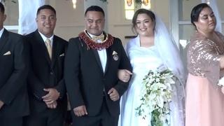 Beautiful Wedding Ceremony ~ Tupouuangafa Moala & Watson Taufa'ao Lauaki